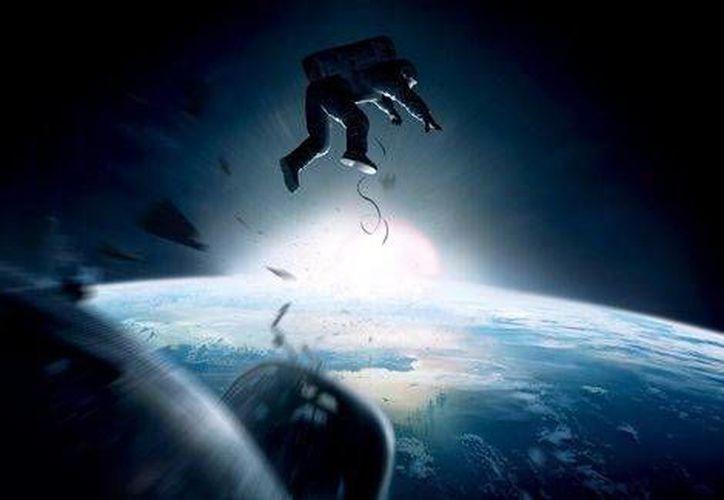 Gravity terminó la noche con 7 premios Oscar. (Milenio)