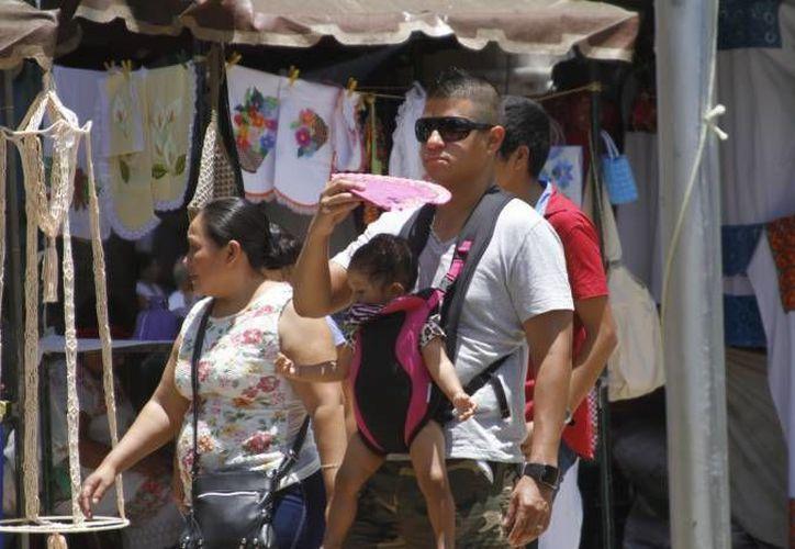 Según la Conagua este fin de semana será caluroso, pero con lluvias en la Península de Yucatán. (Milenio Novedades)