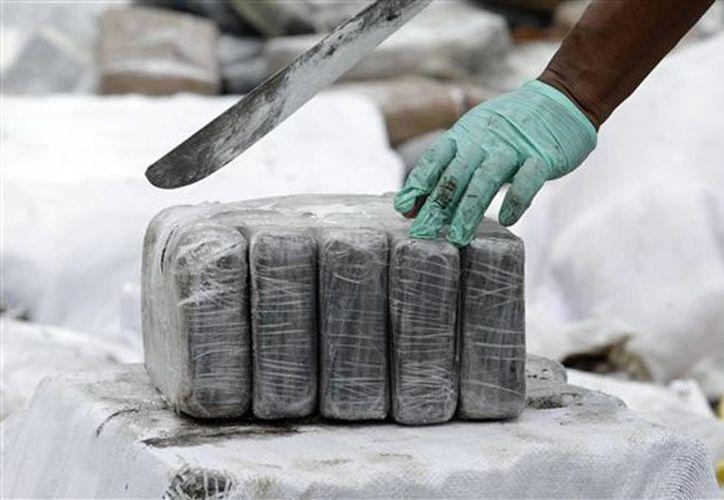 """Las autoridades creen que la droga incautada pertenecía a la organización criminal de Víctor Ramón Navarro, alias """"Megateo"""". (Archivo/AP)"""