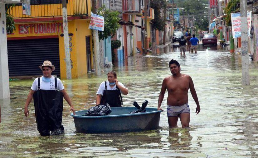 El cólera suele surgir en zonas inundadas por largo tiempo. (Notimex)