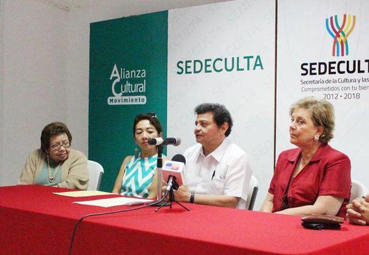 Conferencia de prensa en la que se anunció a los ganadores. (SIPSE)