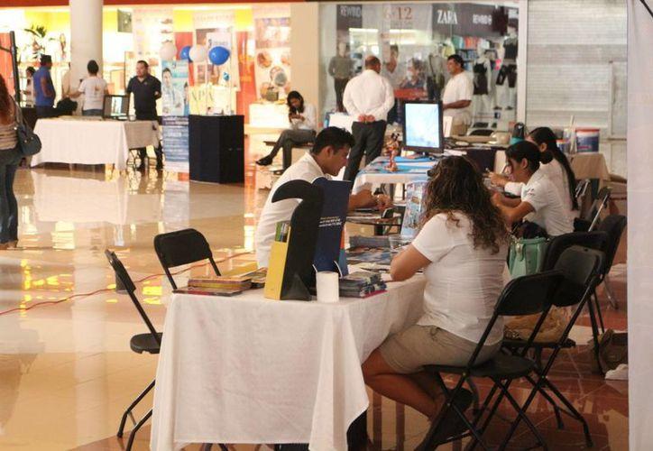 En la segunda edición del Encuentro Empresarial participan 63 empresas. (Adrián Barreto/SIPSE)