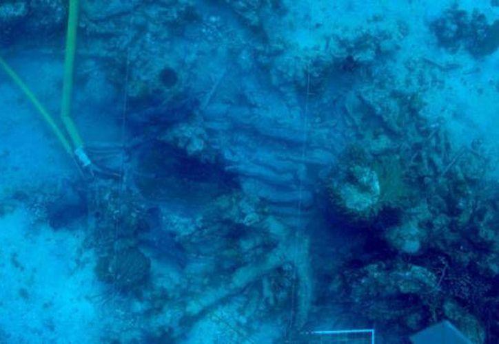 Los restos del navío se encuentran en el área de arrecifes de Banco Chinchorro en Quintana Roo. (Foto/Internet)