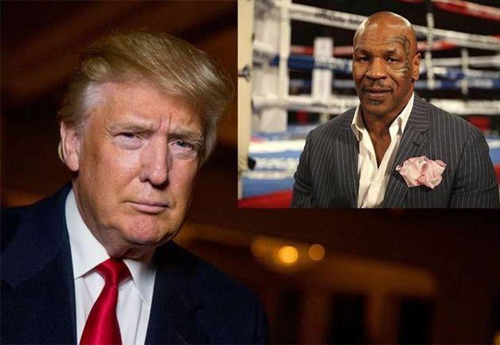 Bastante es conocido el apoyo que el exboxeador Myke Tyson ha brindado a Donald Trump al grado de afirmar que este debería ser el próximo presidente de Estados Unidos. (Archivo/ AP)