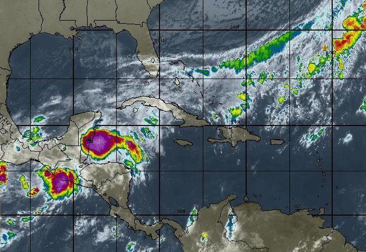 En el mar Caribe no hay evolución de ningún sistema ciclónico. (Redacción/SIPSE)