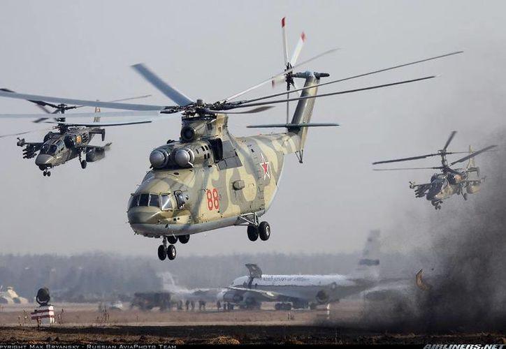 Durante 40 años, el Mi-26 fue el helicóptero más potente del mundo; pronto quedará en segundo lugar: China y Rusia ya colaboran para fabricar uno más grande y potente. (airlines.net9