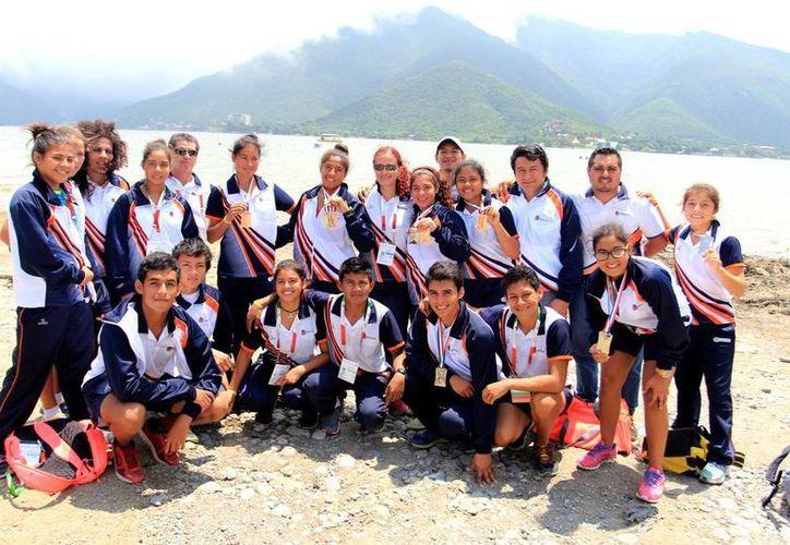 La selección que representó a Quintana Roo. (Raúl Caballero/SIPSE)