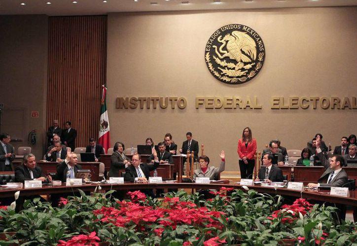 El Consejo General del IFE declaró la procedencia constitucional y legal de las modificaciones a los Estatutos de Movimiento Ciudadano. (Notimex)