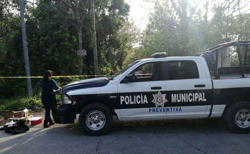 El cuerpo sin vida fue encontrado en la colonia Avante. (Eric Galindo/SIPSE)