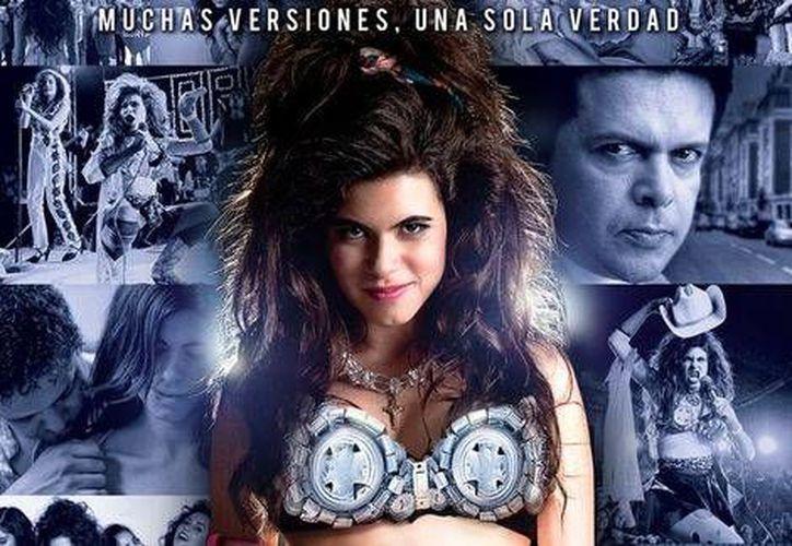Sofía Espinosa interpreta a Gloria Trevi en la nueva película sobre la cantante regiomontana. (Río Negro)
