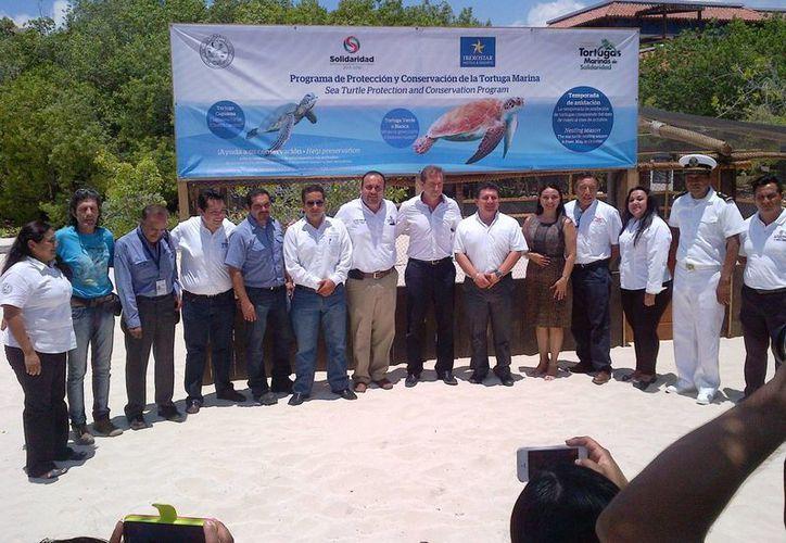 El Comité Municipal de Protección y Conservación de Tortugas Marinas pretende superar el número de liberaciones del año pasado. (Daniel Pacheco/SIPSE)