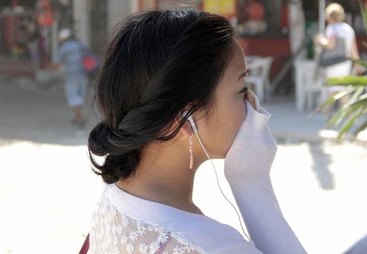 Enfermedades en las vías respiratorias, alergias y la alteración de síntomas de asma, son las consultas más frecuentes. (Tomás Álvarez/SIPSE)
