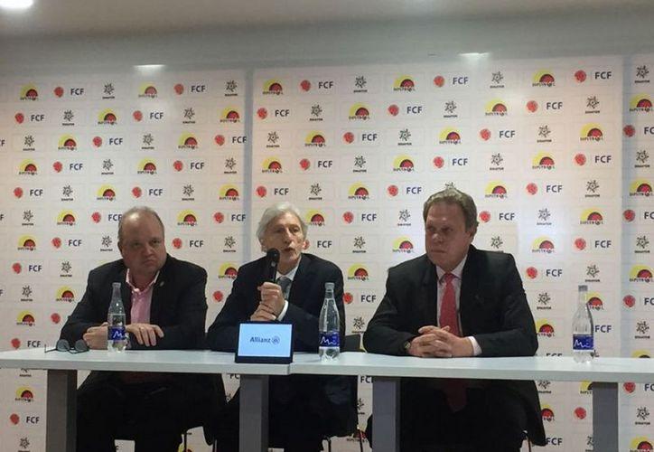El técnico no dio detalles de sus proyectos profesionales, pero dijo que Colombia significaba mucho para él. (Vanguardia)