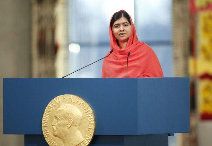 Malala Yousafzai, una de las principales promotoras de  #BringBackOurGirls, aseguró que no olvidará a 'sus hermanas'. (Archivo/EFE)