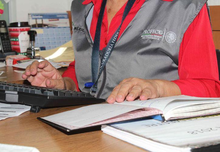La Profeco delegación Quintana Roo alerta a los vacacionistas sobre los fraudes. (Ivette Ycos/SIPSE)