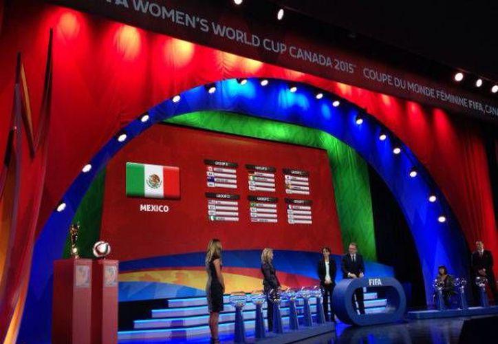 México jugará en Moncton, Canadá, sede del grupo 'F'. (Foto: Femexfut)
