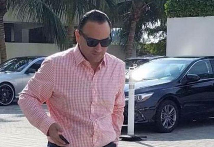 Roberto Borge fue captado en foto hace unos meses en Cozumel.  (Redacción)