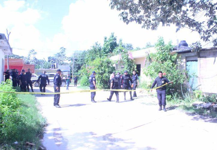 El cuerpo fue hallado a las 11 horas de ayer. (Redacción/SIPSE)