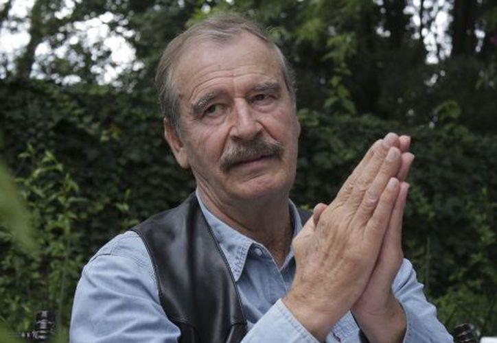 El expresidente de México Vicente Fox Quesada sugirió a Enrique Peña Nieto legalizar el uso del Cannabis antes de terminar su sexenio. (Cuartoscuro)