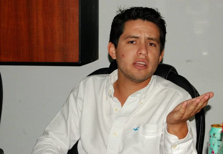 El regidor Luis Castillo López se ausentará por espacio de dos meses. (Wilberth Argüelles/SIPSE)