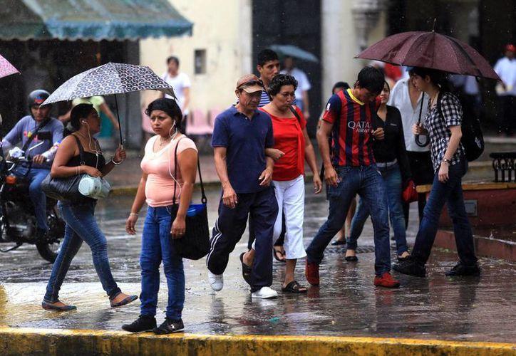 A pesar de las lluvias, continuarán las altas temperaturas. (SIPSE)