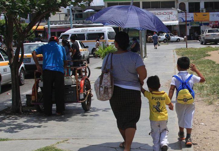 Quintana Roo mantiene un padrón de 190 niños y niñas asegurados debido al fallecimiento de 100 jefas de familias. (Ángel Castilla/SIPSE)