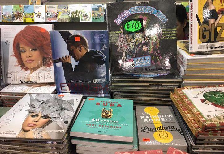 El remate de libros será el 16 de marzo una gran variedad de libros, en el Centro de Convenciones Yucatán Siglo XXI.  (Foto: Milenio Novedades)