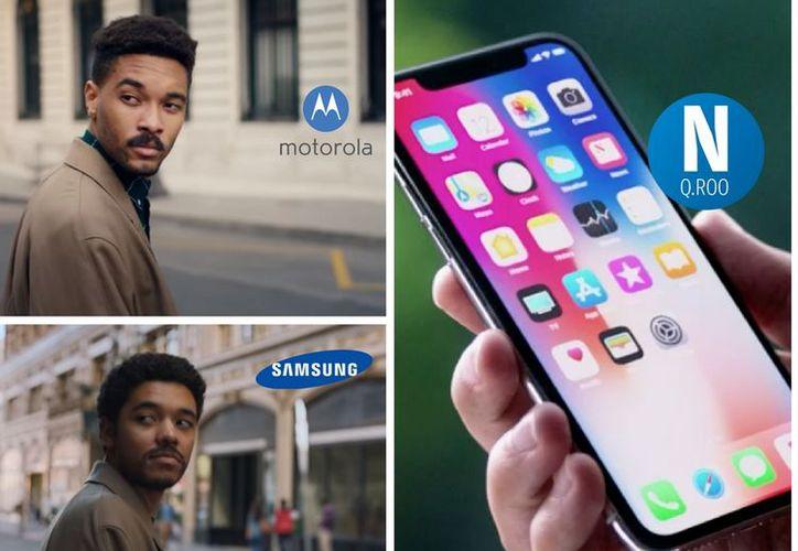 Se trata de un anuncio del Motorola Moto Z que, entre otras características, cuenta con un proyector que se integra al teléfono. (Redacción/SIPSE)