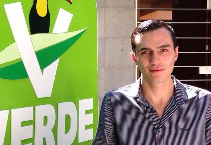 Anuar Selmen González queda fuera del PVEM.