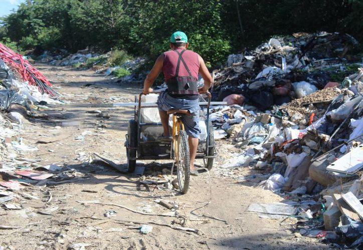 En el tramo actualmente se realiza la excavación por parte de la inmobiliaria Casas Ara. (Octavio Martínez/ SIPSE)