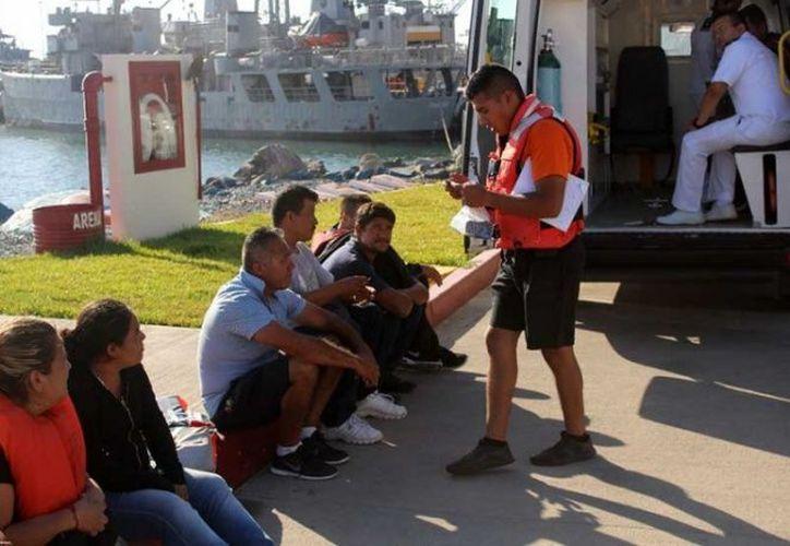 El Mando Naval activó el Sistema Regional de Búsqueda y Rescate. (Semar)