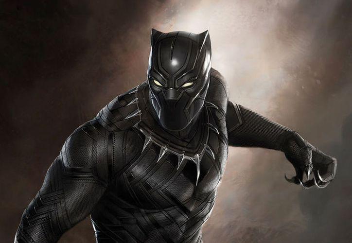 Black Panther posa en compañía de otros miembros de Wakanda. (Contexto/Internet).
