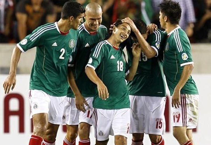 Según el ranking de la FIFA, México sigue siendo  el gigante de la Concacaf. (Archivo Notimex)