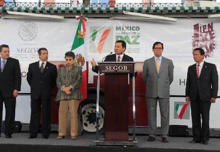 Osorio Chong dijo que la prevención es prioritaria en la presente administración. (Segob)