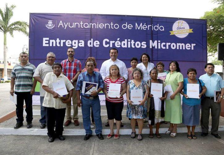 Los créditos Micromer benefician principalmente a mujeres meridanas. (SIPSE)