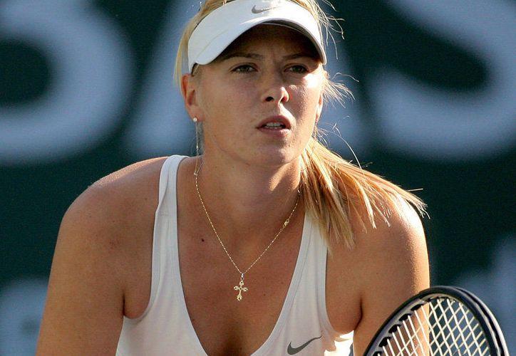 La tenista rusa María Sharapova recibió una invitación para participar en el Abierto de Tenis. (Contexto/Internet).