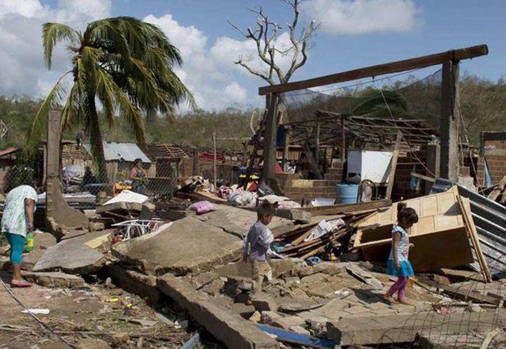 El huracán Patricia se convirtió en el más fuerte del que se tiene registro en el hemisferio Occidental. (Archivo/AP)