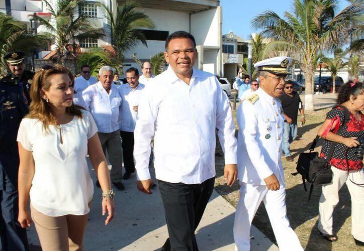 El gobernador Rolando Zapata estará en cuatro eventos oficiales este jueves, entre ellos la firma de un acuerdo entre el Gobierno estatal y la Cofepris. (Foto cortesía del Gobierno estatal)