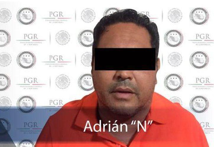 Adrián fungía como encargado de la contabilidad de la organización criminal. (Milenio.com)