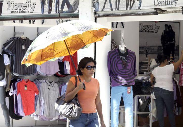 El calor predominó en Mérida este jueves. (Christian Ayala/SIPSE)