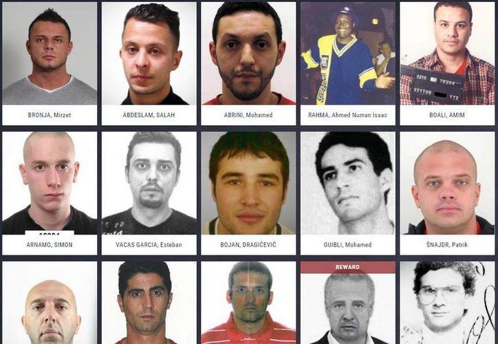 En la lista aparece solamente una mujer: es buscada por fraude en Finlandia. (Europol)