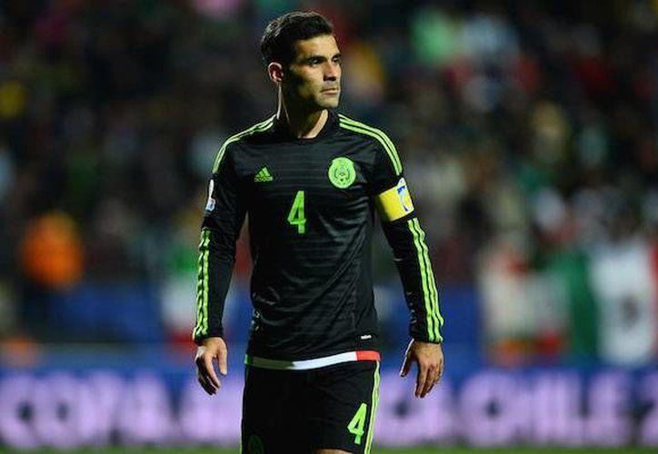 Rafael Márquez formará parte de los 23 convocados de la selección para los siguientes partidos eliminatorios ante Canadá.(Notimex)
