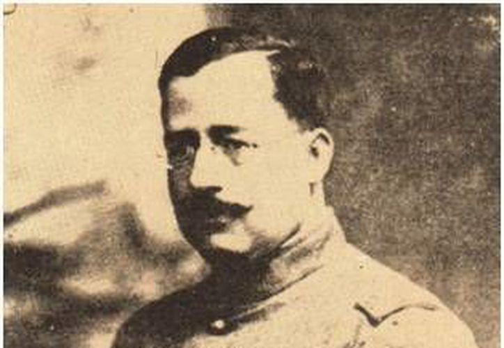 El general Salvador Alvarado liberó a los campesinos que eran tratados como esclavos en las haciendas henequeneras. (Sergio Grosjean/SIPSE)