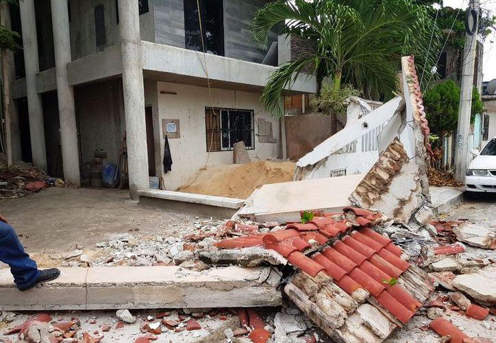 Informan que encargados de la obra no tomaron previsiones al realizar los trabajos. (Foto: Octavio Martínez)