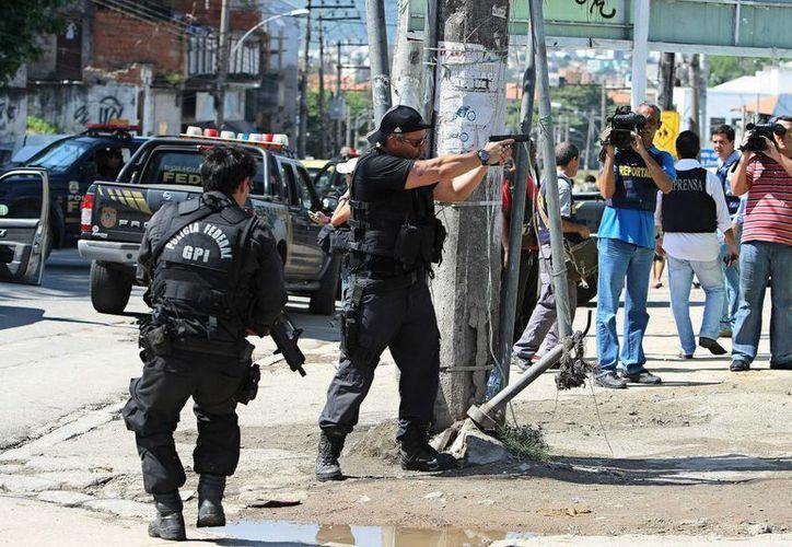 La policía brasileña decomisó 1.4 millones de comprimidos en una operación para desarticular una red de drogas sintéticas. (EFE)