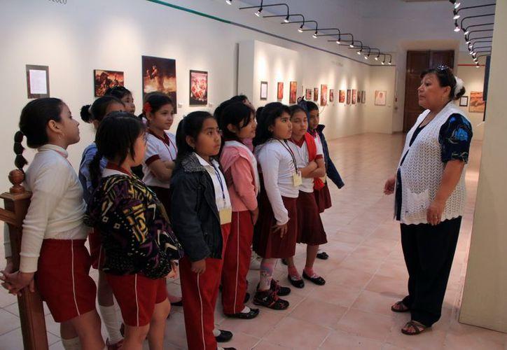 El MACAY contabilizó más de 20 mil visitas de estudiantes en 2012. (SIPSE)