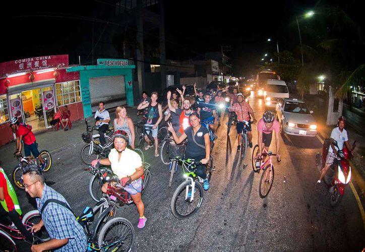 Bicineta se ha distinguido por recorrer alrededor de 70 mil kilómetros al año en Playa del Carmen. (Foto: Octavio Martínez)