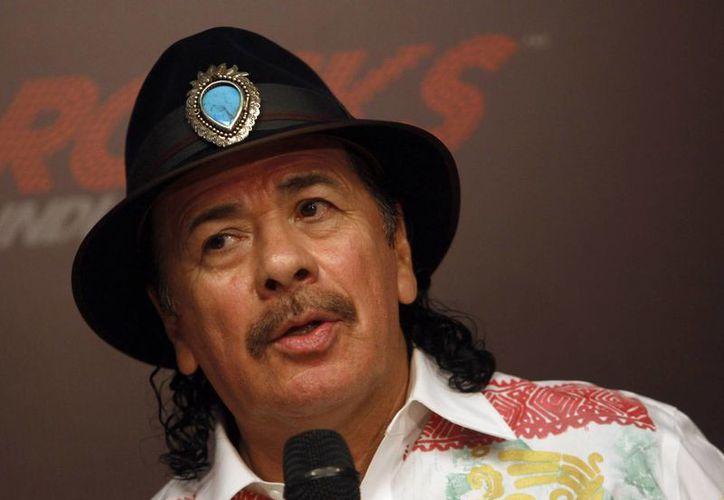 Santana logró el éxito en Estados Unidos. (Agencias)