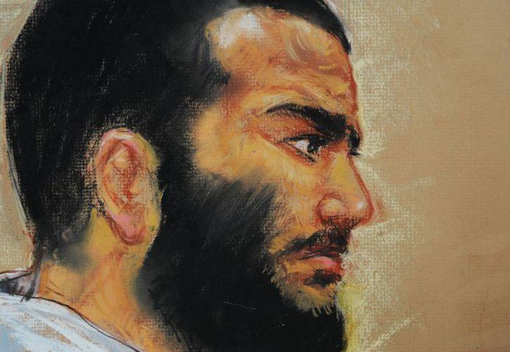 Omar Kahdr llegó a la prisión de Guantánamo cuando tenía 15 años. (AP)