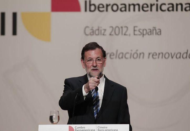 El Presidente Mariano Rajoy dijo que España apoya la opción sobre los dos Estados en el conflicto israelí-palestino. (Archivo/Notimex)
